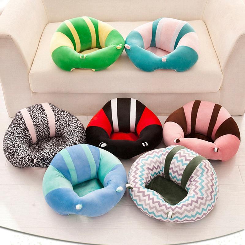 Baby Support Seat Soft Chair Car Cushion Sofa Plush Pillow Seat Pad Cotton USA